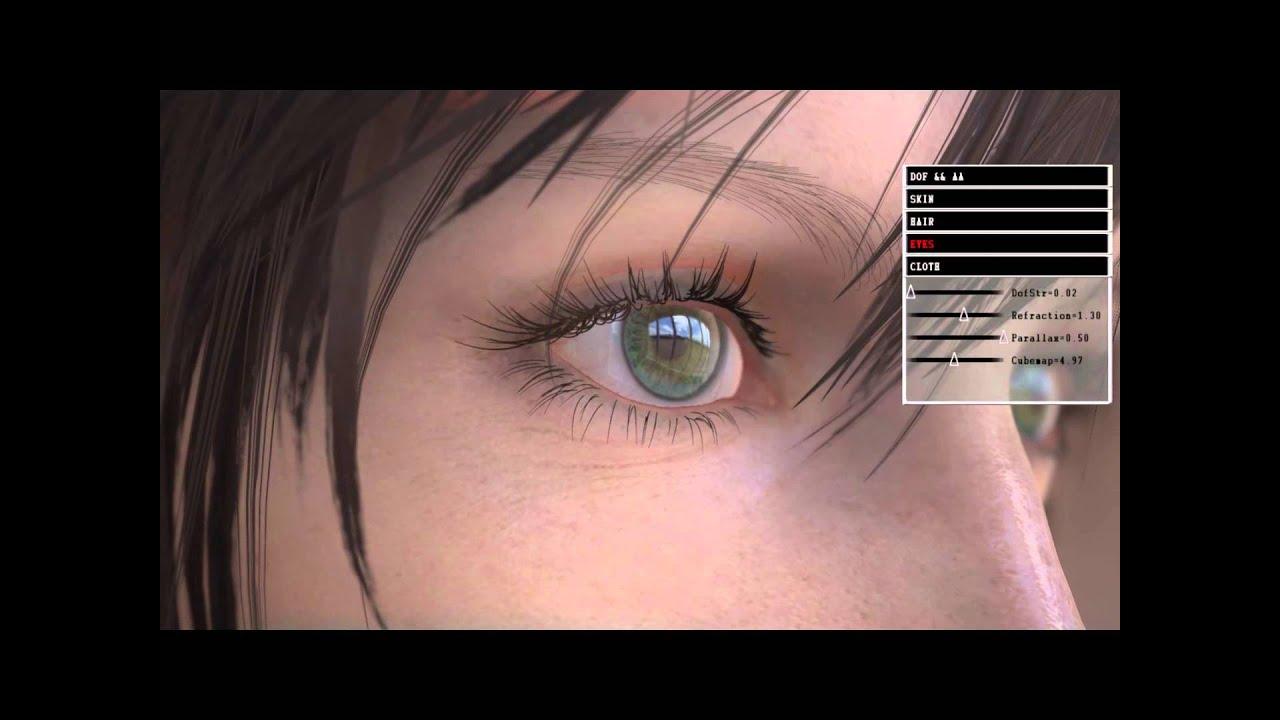 Square Enix's Next-Gen Engine Sure Makes Eyeballs Look Pretty