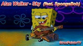 Alan Walker - Sky (SpongeBob Edition)
