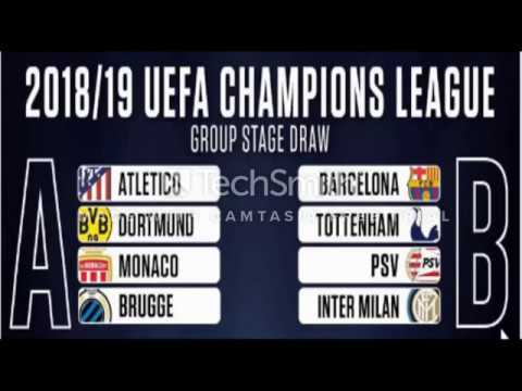 Champions League Draw 2018/19