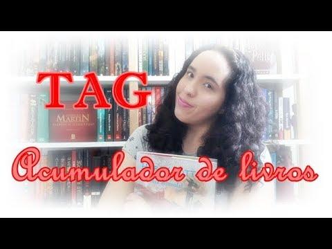 TAG Acumulador de livros | Um Livro e Só