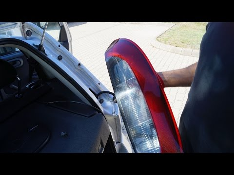 Opel Corsa - Rear Right Lamp Replacement