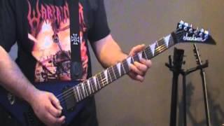 Judas Priest - Running Wild  (guitar cover)
