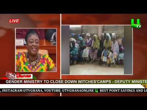 Gender Ministry to close down witches' camps – Deputy Minister