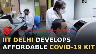 IIT Delhi develops affordable COVID-19 testing kit | Corona testing Kit - Download this Video in MP3, M4A, WEBM, MP4, 3GP