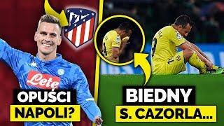 Milik na celowniku ATLETICO MADRYT! Zapłakany Santi Cazorla po meczu...
