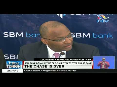 SBM bank of Mauritius officially takes over Chase Bank
