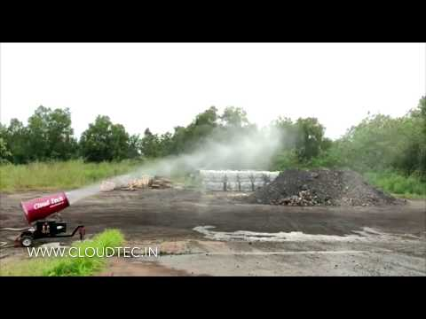 Mist Beam Dust Suppression System