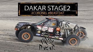 Stage 2 Dakar; tough challenge for Coronel in the dunes of Peru, 2018