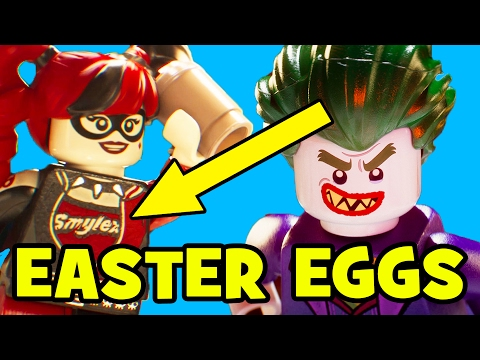 Lego Batman Movie ALL EASTER EGGS & References | MTW