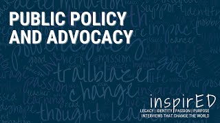 inspirED | Public Policy & Advocacy