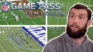 Andrew Luck Breaks Down Colts Top Offensive Plays   NFL Film Session