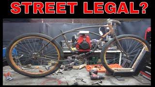 Lets Build a Cheap Engine powered antique Pedal Bike.