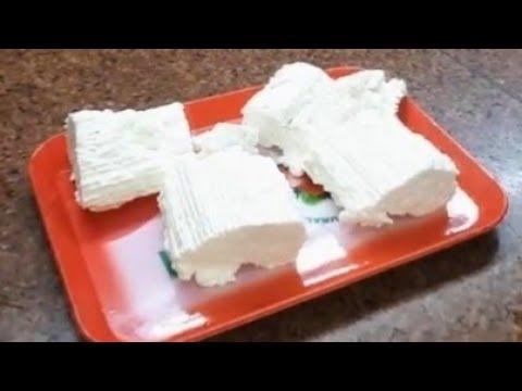 الجبنة القريش بدون منفحة و لا عصير ليمون