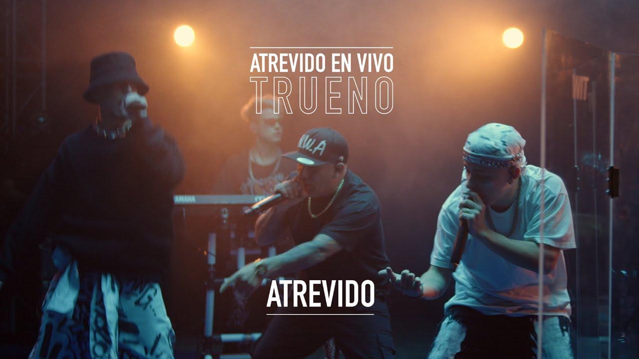 Trueno - Atrevido | ATREVIDO EN VIVO | #FlowCity