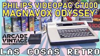 PHILIPS VIDEOPAC G7000 👾 MAGNAVOX ODYSSEY2