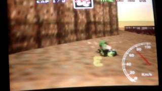"""Mario kart 64 - KD SC lap - 38""""00"""