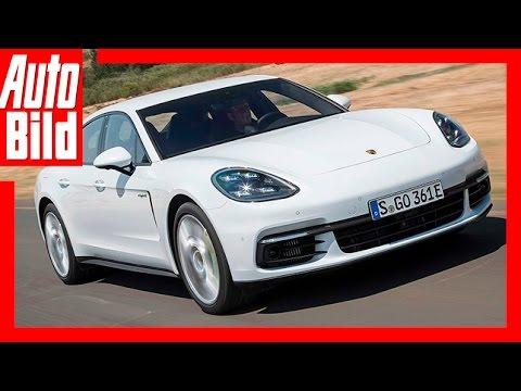 Porsche Panamera 4 E-Hybrid (2017) Fahrbericht/Review/Details