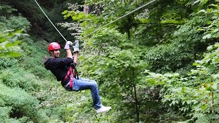 Zip Lining and Canopy Tour at Long Point Eco Adventures