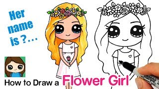 How To Draw A Flower Cute Girl   Snapchat Flower Crown Filter