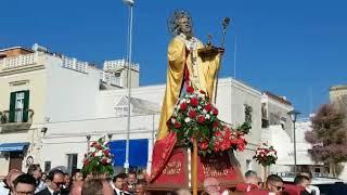 """Bari, Catino e Santo Spirito abbracciano San Nicola. Don Luciano: """"Festa all'insegna della sobrietà"""" - VIDEO"""