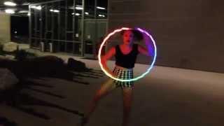 Pixie Flow Arts ODESZA Say My Name LED Hula Hoop Flow Performance