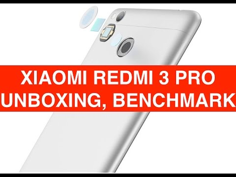 Foto Xiaomi Redmi 3 Pro unboxing e Benchmark ITA