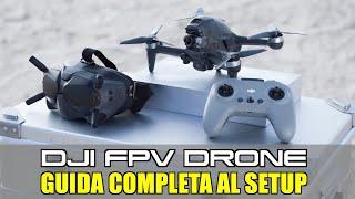 DJI FPV - GUIDA COMPLETA AL SETUP / COME IMPOSTARE LA MODALITA' ACRO