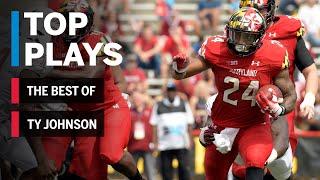 The Best of Ty Johnson: 2018 Mid-Season Highlights | Maryland | Big Ten Football