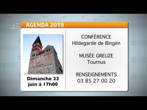 Agenda du 14 juin 2019