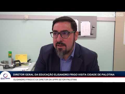 Diretor Geral da Educação do Paraná visita Palotina