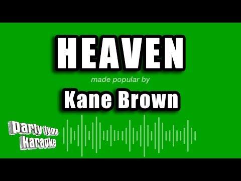 Kane Brown - Heaven (Karaoke Version)