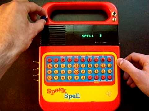Circuit Bent Speak & Spell