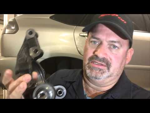 Lexus RX330 Axle Carrier Replace - Lexus RX330 Rear Knuckle Replacement