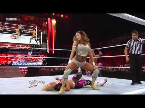720pHD - WWE RAW 12/26/11 Eve Torres & Zack Ryder vs. Natalya & Tyson Kidd