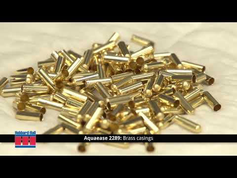 Cleaning Brass with Aquaease 2289