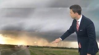 Live Tornado 3/30/16 KUTL Tulsa/Owasso/Claremore Tornado