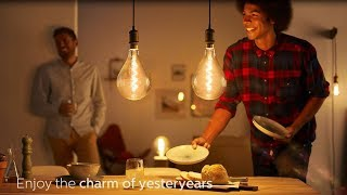 Add a sense of nostalgia to your home - Philips Vintage LED Lamps