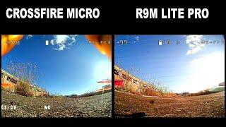 TBS CROSSFIRE MICRO VS R9 LITE PRO