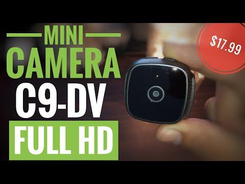 C9-DV 1080P Loop Recording Monitor Night Vision Sport Camera test video review