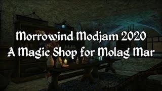 Morrowind Modjam 2020 - A Magic Shop for Molag Mar