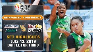 Battle For Third: Banko Perlas Vs. PacificTown Army | Set 3 Highlights   July 13, 2019 | #PVL2019
