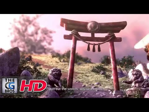 "CGI 3D Animated Short ""The Wolf and the Dog"" – by ESMA"