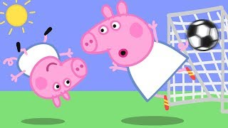 Peppa Pig English Episodes | Football with Peppa Pig!  Peppa Pig Official