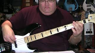 Aretha Franklin I Say A Little Prayer For You Bass Cover with Notes & Tab
