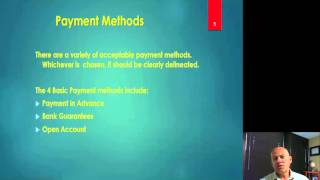 international trade and methods of payment