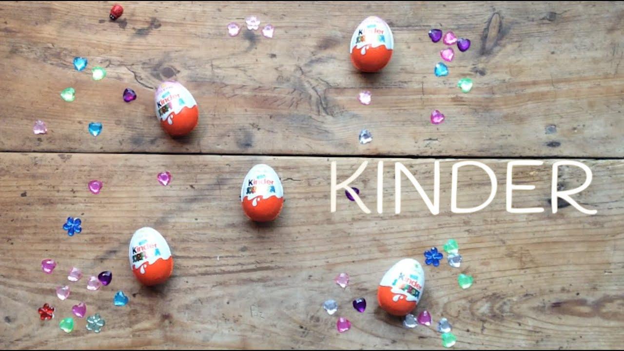 Huevos Kinder SORPRESA en español | JUGUETES para niños