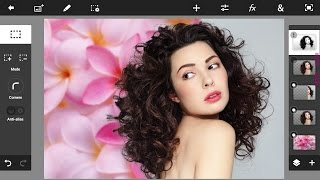 Android Photoshop Touch Tutorial : Advance Hair Selection ( 2 Method Included)। Ps Touch।