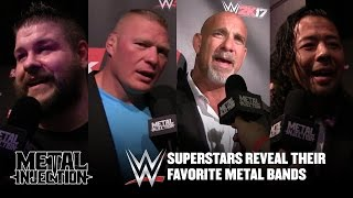 WWE Superstars Reveal Their Favorite Metal Bands | Metal Injection