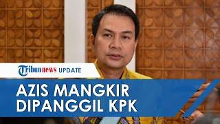 Wakil Ketua DPR Azis Syamsuddin Mangkir saat Panggilan Pertama KPK, Ngaku Punya Agenda Lain