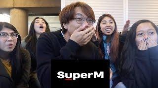 [SOO MAN?!?!] SUPERM (슈퍼엠) JOPPING MV REACTION